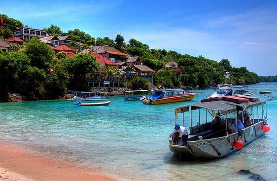 巴厘岛金银岛(Nusa Ceningan)