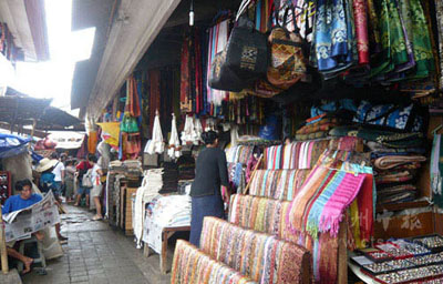 乌布的Tegallalang市场