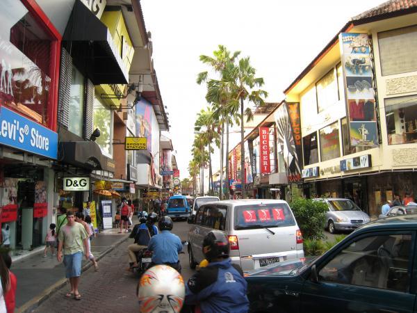 巴厘岛库塔洋人街(库塔广场 Kuta Square)