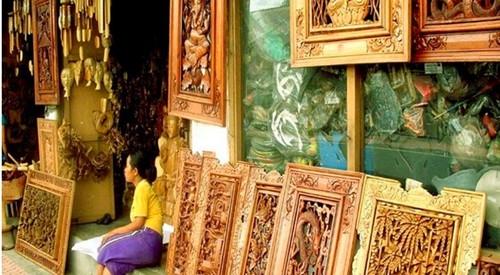 巴厘岛游记:去乌布马斯木雕村看传统木雕