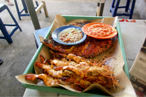 巴厘岛游记:海鲜控的天堂,金巴兰海鲜市场!33.JPEG