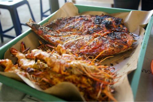 巴厘岛游记:海鲜控的天堂,金巴兰海鲜市场!32.JPEG