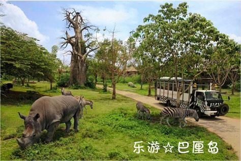 巴厘岛自由行Bali Safari & Marine Park 野生动物园一日游