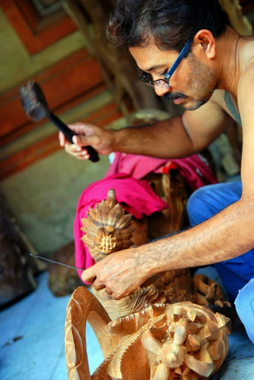 巴厘岛游记:去乌布马斯木雕村看传统木雕18.jpg