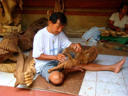 巴厘岛游记:去乌布马斯木雕村看传统木雕14.jpg