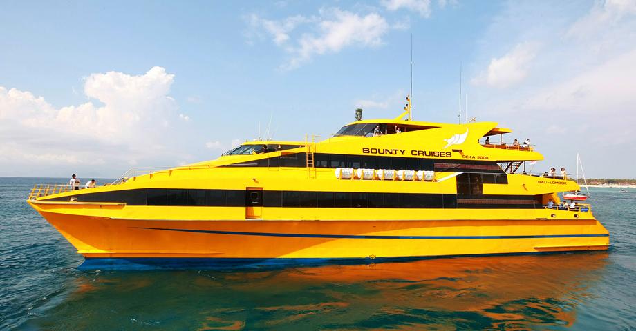 巴厘岛自由行黄色爱之船(Bounty Cruise)蓝梦岛出海一日游预订