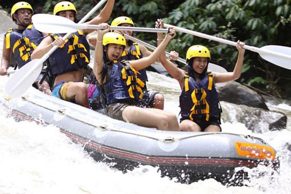 巴厘岛漂流 巴厘岛最好的漂流公司 Bali Adventure 阿勇河漂流一日游