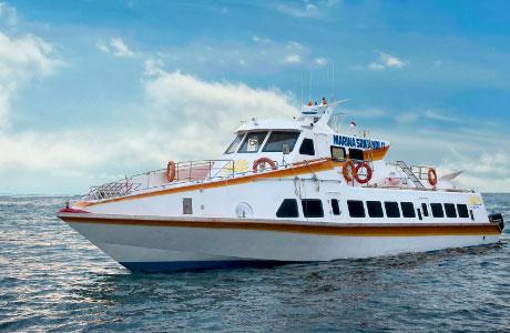 巴厘岛-吉利岛Gili自由行 Marina Srikandi快艇从巴厘岛到吉利岛Gili Trawangan / Gili air往返来回船票