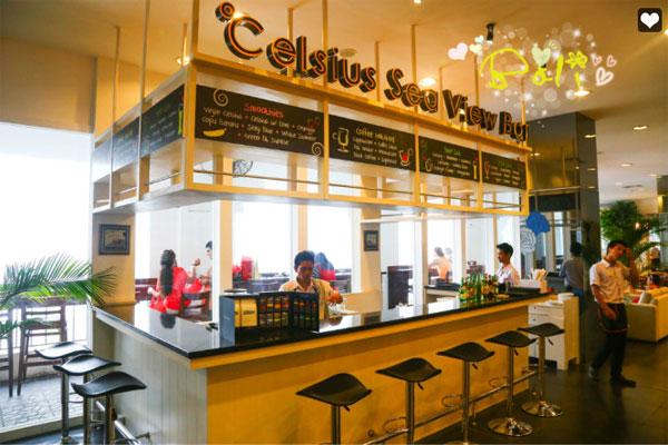 巴厘岛 Celsius Cafe 餐厅咖啡吧