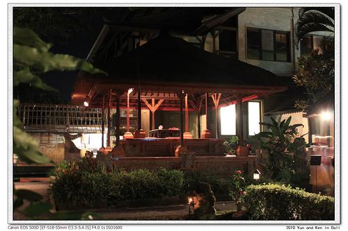 巴厘岛美食攻略——乌布Lotus Cafe莲花餐厅