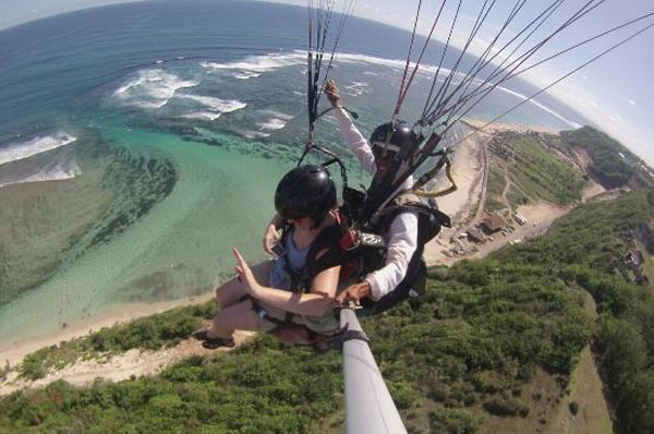 巴厘岛滑翔伞最佳飞行地点推荐