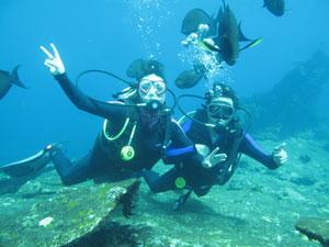 巴厘岛潜水一日游 Tulamben Liberty自由号沉船深潜 巴厘岛图兰奔潜水预定