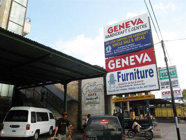Geneva Handicraft Centre 巴厘岛最大的手工艺品手信礼品市场