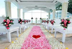 巴厘岛婚礼教堂—— Blue Point Chapel 蓝点酒店玻璃教堂