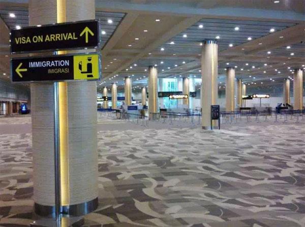 2015年3月起从巴厘岛机场入境无须填写出入境卡
