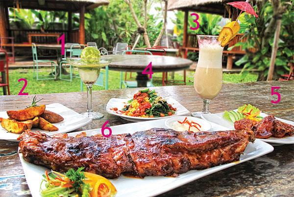 巴厘岛 Warung Sunset 烤猪排餐厅(Warung iga Sunset Road)