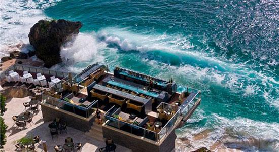 巴厘岛阿雅娜下午茶半日游:情人崖+阿雅娜下午茶(damar/orchid餐厅)+Rock Bar岩石酒吧