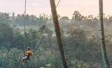 Bali Swing/巴厘岛乌布丛林秋千/巴厘岛网红秋千
