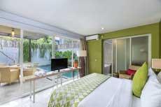 巴厘岛2卧室泳池别墅预订(努沙杜瓦金达纳别墅酒店 Tjendana Villas Nusa Dua)
